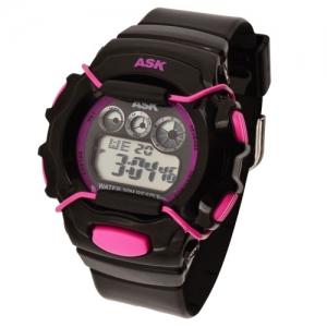 [더산시계] ASK SK239 국내브랜드 에스크 전자시계 디지털시계 손목시계 전자손목시계 스포츠시계