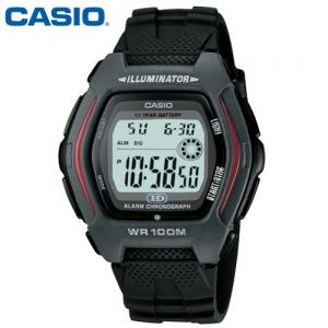 [CASIO] HDD-600-1A카시오 전자시계 [시계 후면 로고 인쇄 레이저 마킹 각인 문의는 네이뽕]