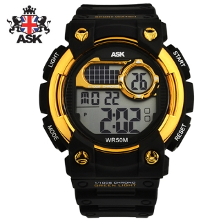 [더산시계] ASK SK321G 국내브랜드 에스크 전자시계 디지털시계 손목시계 전자손목시계 스포츠시계