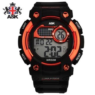 [더산시계] ASK SK321O 국내브랜드 에스크 전자시계 디지털시계 손목시계 전자손목시계 스포츠시계