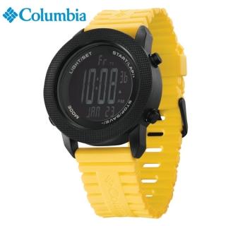 [Columbia] CT010-901(YEL) [시계 후면 로고 인쇄 레이저 마킹 각인 문의는 네이뽕]