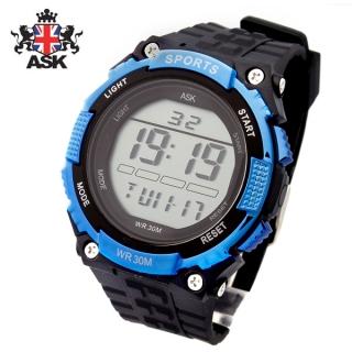 [더산시계] ASK SK325B 국내브랜드 에스크 전자시계 디지털시계 손목시계 전자손목시계 스포츠시계