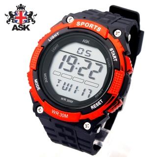[더산시계] ASK SK325R 국내브랜드 에스크 전자시계 디지털시계 손목시계 전자손목시계 스포츠시계