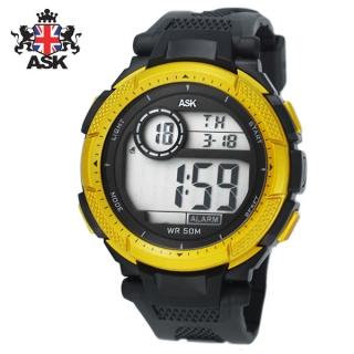 [더산시계] ASK SK328Y 국내브랜드 에스크 전자시계 디지털시계 손목시계 전자손목시계 스포츠시계