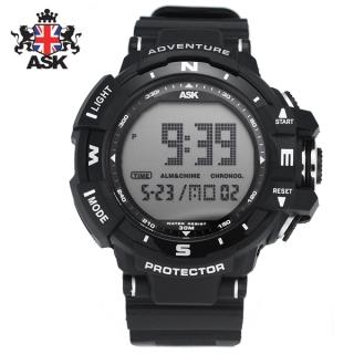 [더산시계] ASK SK329K 국내브랜드 에스크 전자시계 디지털시계 손목시계 전자손목시계 스포츠시계
