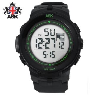 [더산시계] ASK SK330N 국내브랜드 에스크 전자시계 디지털시계 손목시계 전자손목시계 스포츠시계