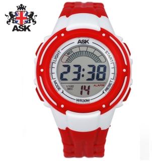 [더산시계] ASK SK331r 국내브랜드 에스크 전자시계 디지털시계 손목시계 전자손목시계 스포츠시계