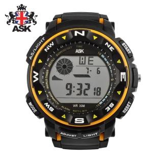 [더산시계] ASK SK333Y 국내브랜드 에스크 전자시계 디지털시계 손목시계 전자손목시계 스포츠시계