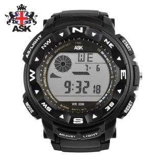 [더산시계] ASK SK333K 국내브랜드 에스크 전자시계 디지털시계 손목시계 전자손목시계 스포츠시계