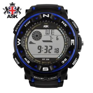[더산시계] ASK SK333B 국내브랜드 에스크 전자시계 디지털시계 손목시계 전자손목시계 스포츠시계
