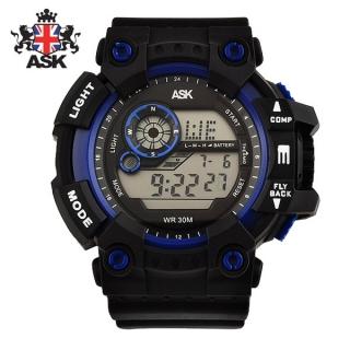 [더산시계] ASK SK332B 국내브랜드 에스크 전자시계 디지털시계 손목시계 전자손목시계 스포츠시계
