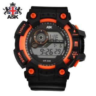 [더산시계] ASK SK332O 국내브랜드 에스크 전자시계 디지털시계 손목시계 전자손목시계 스포츠시계