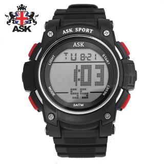 [더산시계] ASK SK338R 국내브랜드 에스크 전자시계 디지털시계 손목시계 전자손목시계 스포츠시계