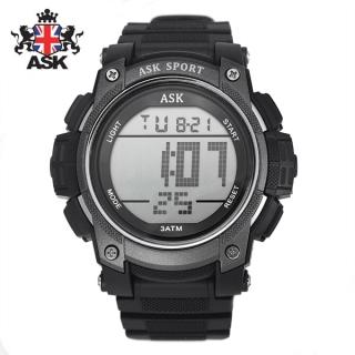 [더산시계] ASK SK338K 국내브랜드 에스크 전자시계 디지털시계 손목시계 전자손목시계 스포츠시계