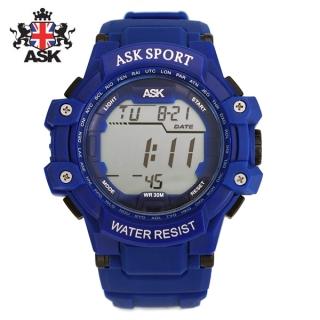 [더산시계] ASK SK337B 국내브랜드 에스크 전자시계 디지털시계 손목시계 전자손목시계 스포츠시계
