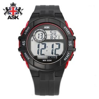 [더산시계] ASK SK334R 국내브랜드 에스크 전자시계 디지털시계 손목시계 전자손목시계 스포츠시계