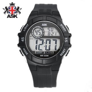 [더산시계] ASK SK334K 국내브랜드 에스크 전자시계 디지털시계 손목시계 전자손목시계 스포츠시계