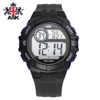 [더산시계] ASK SK334B 국내브랜드 에스크 전자시계 디지털시계 손목시계 전자손목시계 스포츠시계