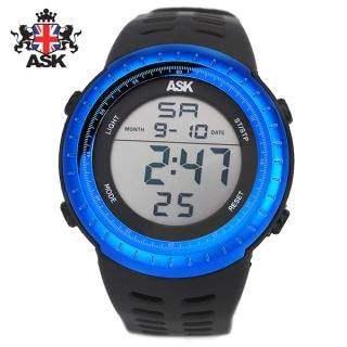 [더산시계] ASK SK335B 국내브랜드 에스크 전자시계 디지털시계 손목시계 전자손목시계 스포츠시계