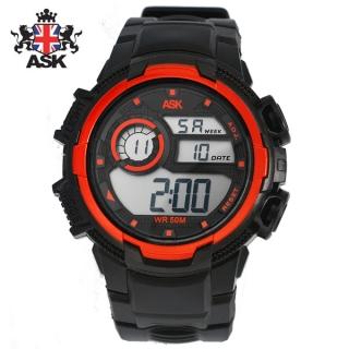 [더산시계] ASK SK336O 국내브랜드 에스크 전자시계 디지털시계 손목시계 전자손목시계 스포츠시계