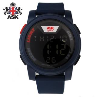 [더산시계] ASK SK342B 국내브랜드 에스크 전자시계 디지털시계 손목시계 전자손목시계 스포츠시계