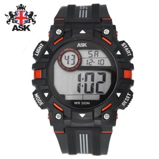 [더산시계] ASK SK343O 국내브랜드 에스크 전자시계 디지털시계 손목시계 전자손목시계 스포츠시계