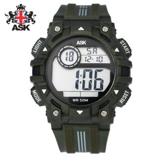 [더산시계] ASK SK343N 국내브랜드 에스크 전자시계 디지털시계 손목시계 전자손목시계 스포츠시계