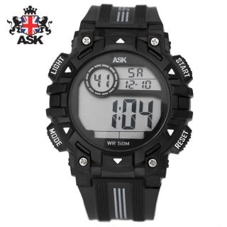[더산시계] ASK SK343K 국내브랜드 에스크 전자시계 디지털시계 손목시계 전자손목시계 스포츠시계