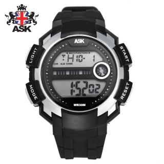 [더산시계] ASK SK340S 국내브랜드 에스크 전자시계 디지털시계 손목시계 전자손목시계 스포츠시계
