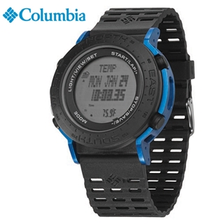 [Columbia] CT008-040(BLK/BLU) [시계 후면 로고 인쇄 레이저 마킹 각인 문의는 네이뽕]