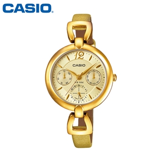 [CASIO] LTP-E401GL-9A카시오 전자시계 [시계 후면 로고 인쇄 레이저 마킹 각인 문의는 네이뽕]