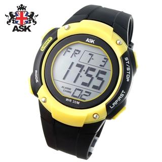 [더산시계] ASK SK320Y 국내브랜드 에스크 전자시계 디지털시계 손목시계 전자손목시계 스포츠시계